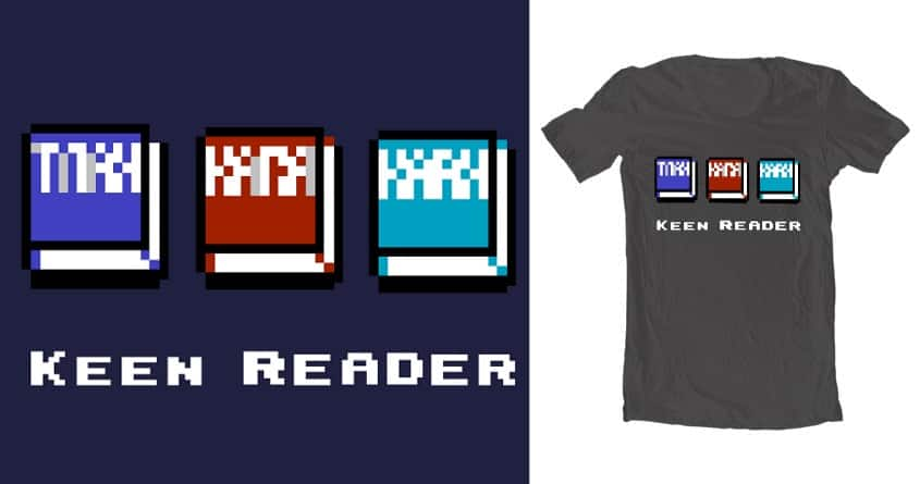 KEEN READER by jards_mac_flards on Threadless