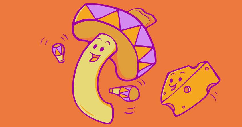 Mac & Cheese Hop by jellyswirl on Threadless