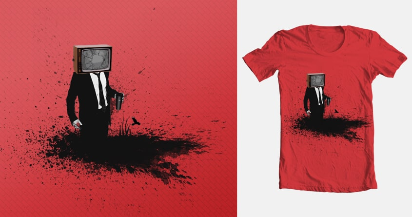 Brain or TV? by devilxx on Threadless