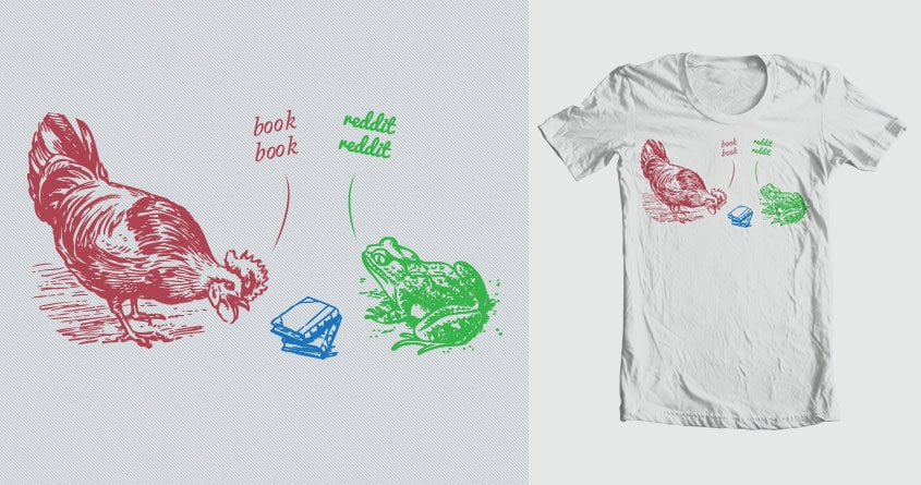 Book Book - Reddit Reddit by aratatatat on Threadless