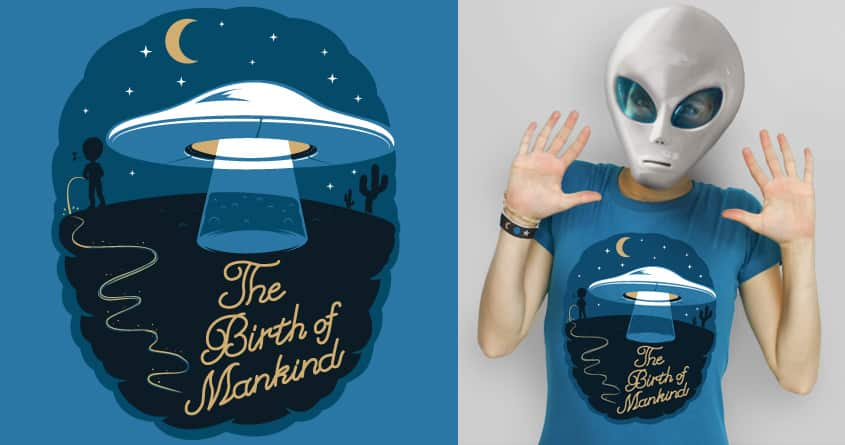The Birth of Mankind by cintrao on Threadless