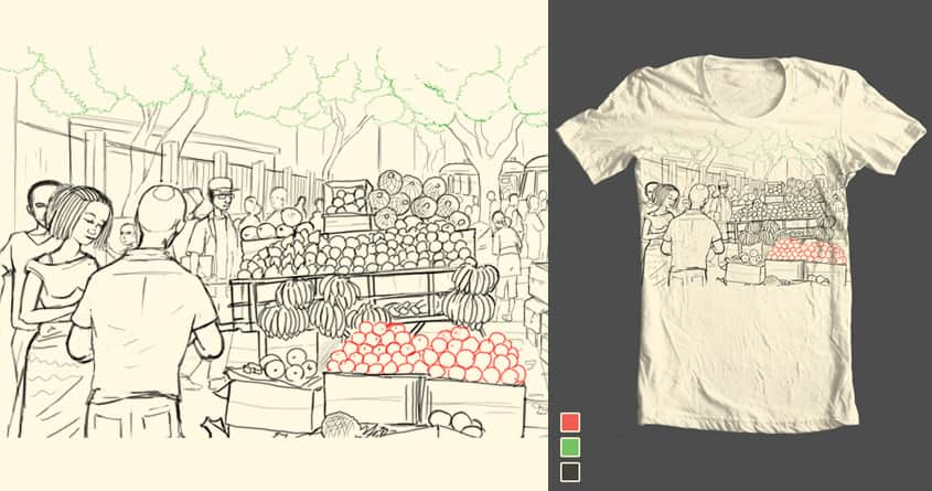 The Market by TiagoBC on Threadless