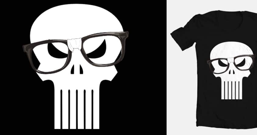 Nerd Skull by Carsis on Threadless
