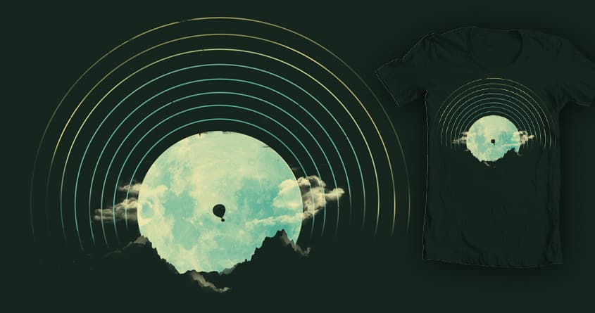 Soundtrack to a Peaceful Night by DontCallMeBlanket on Threadless