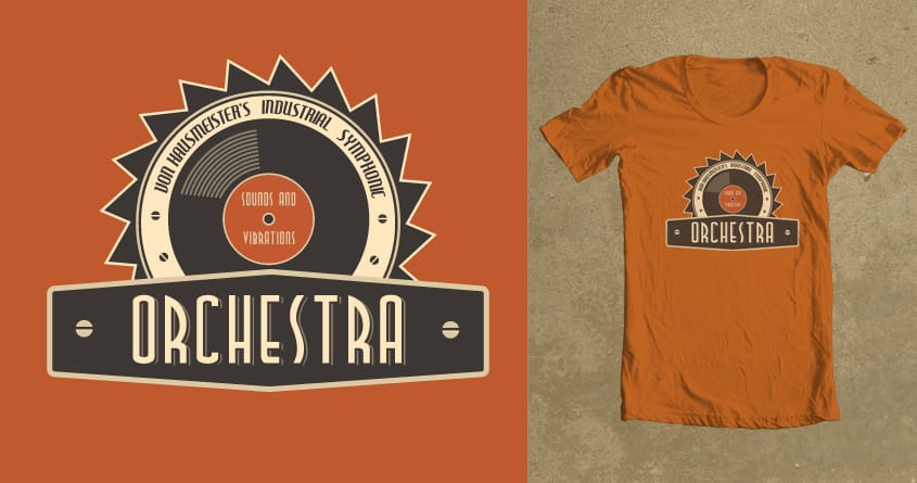 Industrial Orchestra by ziccurate on Threadless