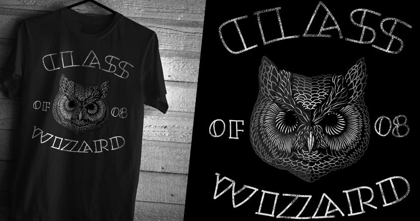 Owl the wizard by ndough on Threadless
