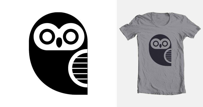 Owly by bi0chemical on Threadless