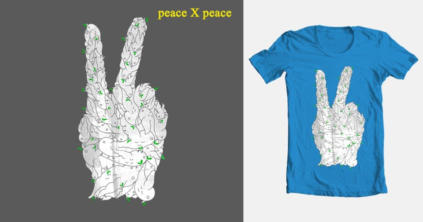 Peace X Peace  by sombers_eye on Threadless