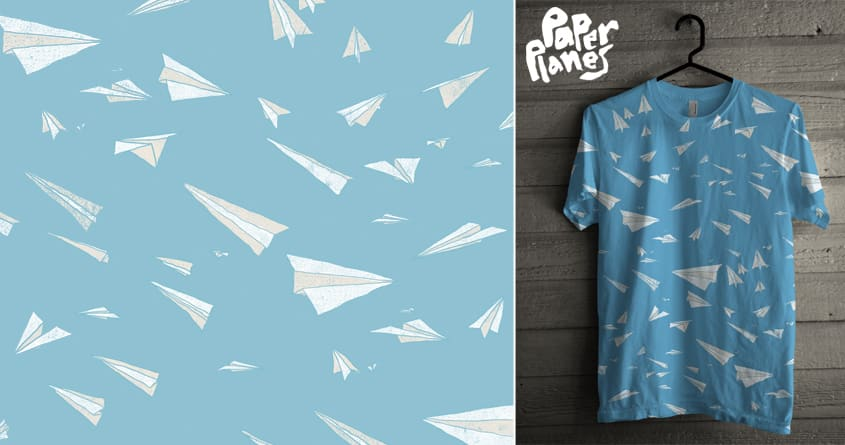 Paper Planes by arzie13 on Threadless