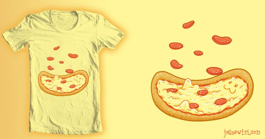 Pizza Party by jellyswirl on Threadless