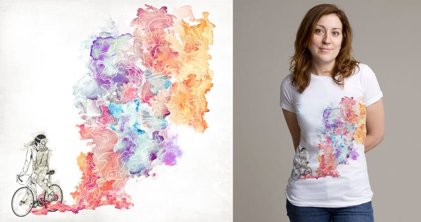 Color Rebel by ignzed on Threadless
