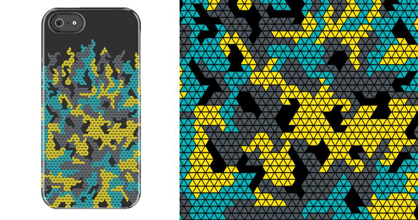 Polygon Camo by MEKAZOO on Threadless