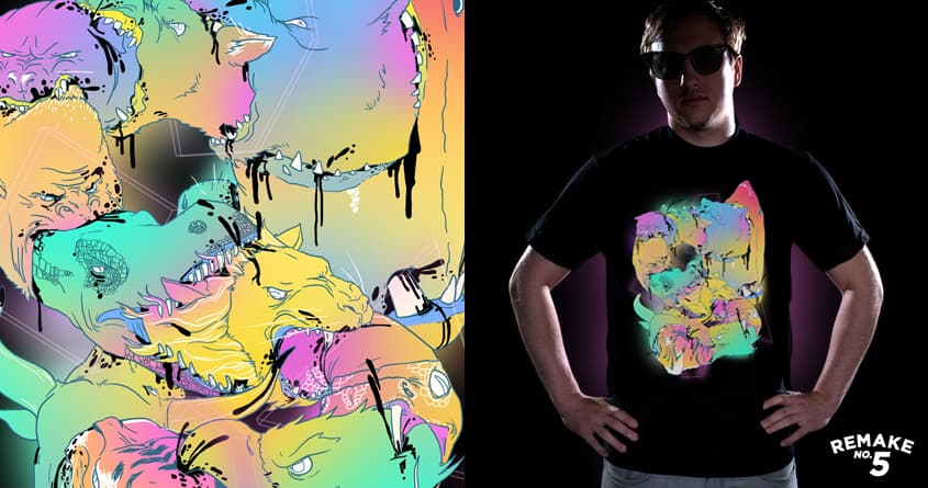 POWER ANIMAL by fightstacy and craquehaus on Threadless