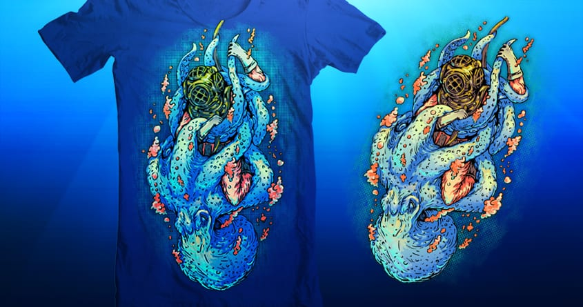 deep sea survival by Villainmazk on Threadless