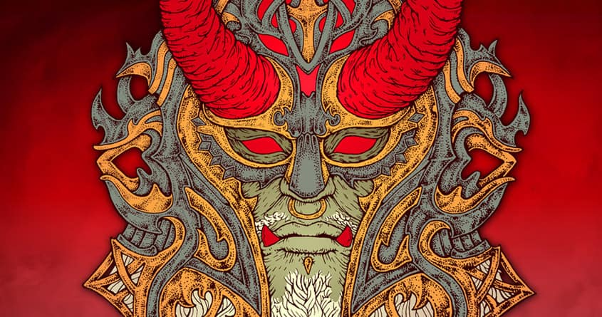 Satan Warlord by Villainmazk on Threadless