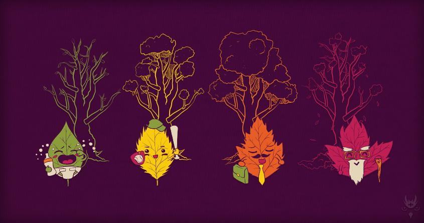 Life of Leaf by Kojima on Threadless