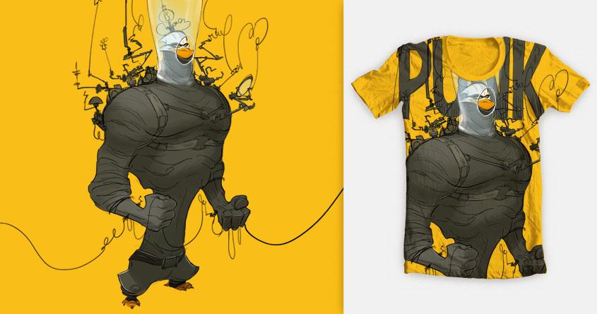 Punk! by paperwalker on Threadless