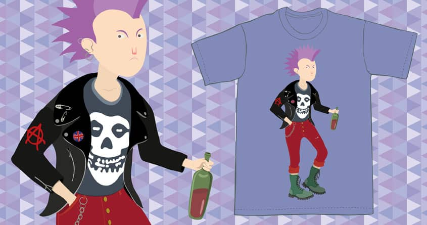 Angry punk by fakeglue on Threadless