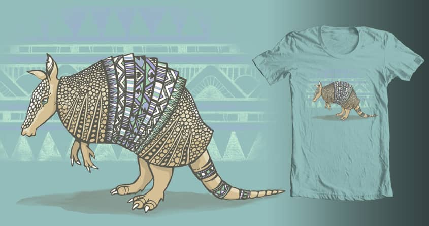 Abstract Armor by jewelwing on Threadless