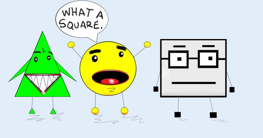 what a square.  by johnnyspeter on Threadless