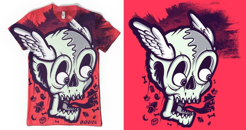 skull cute by diara on Threadless