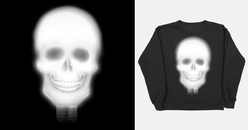 Skulllight by AsliUsta on Threadless