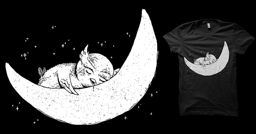 Crescent Coma by jeffreyg on Threadless
