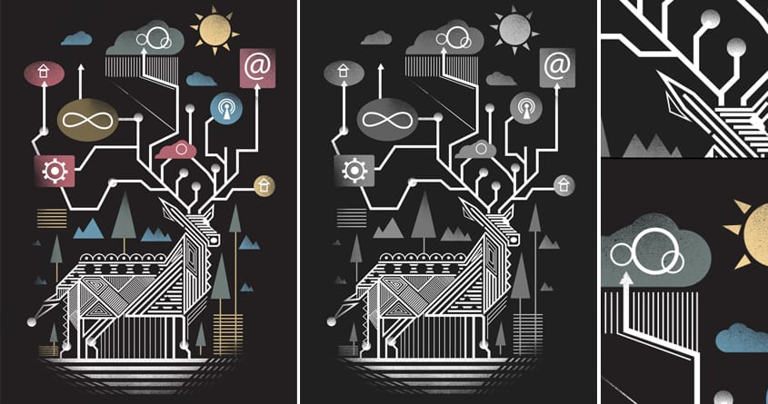 Nature Connection by dandingeroz on Threadless