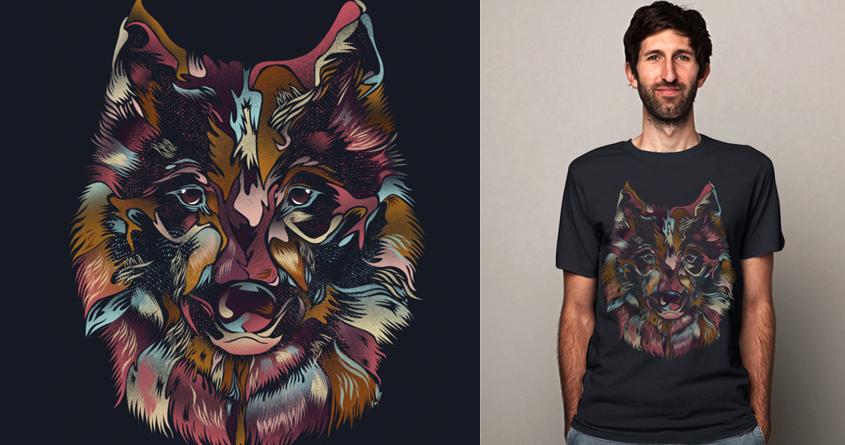 WILD WOLF by dandingeroz on Threadless