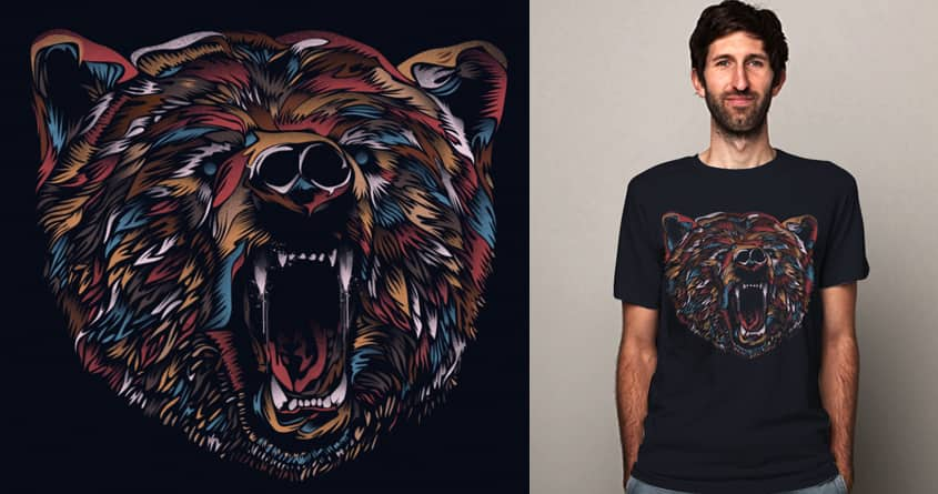 WILD BEAR by dandingeroz on Threadless