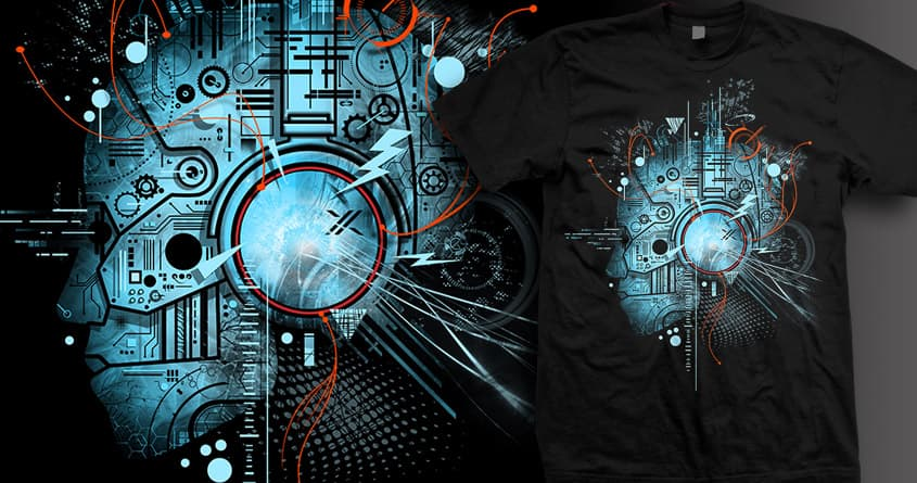 TECHNO by silentOp on Threadless