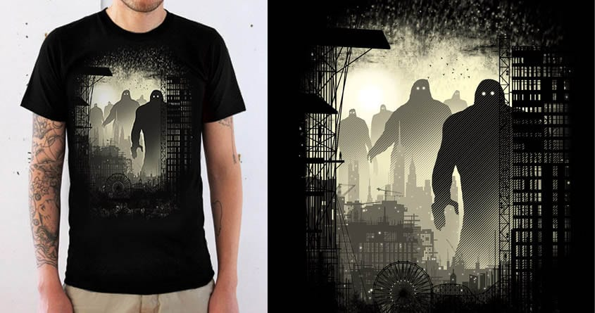 The Visitors by silentOp on Threadless