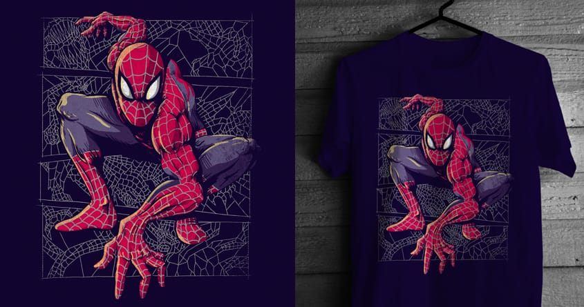 Spider Web by alexmdc on Threadless