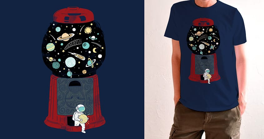 My Childhood Universe by ilovedoodle on Threadless