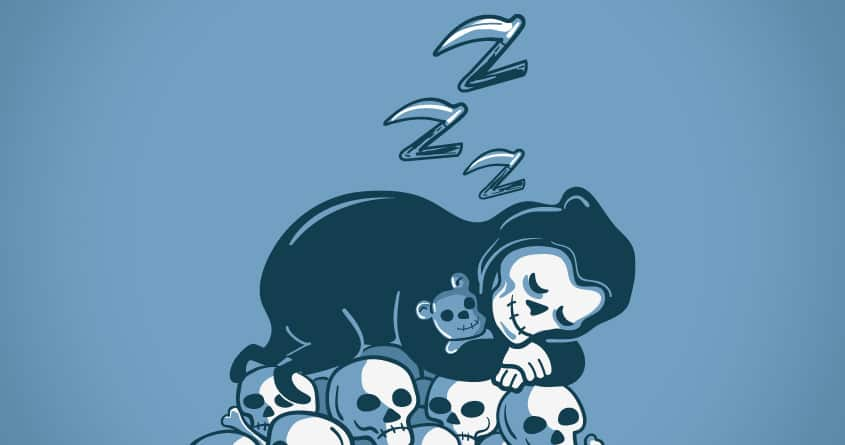 Grim Sleeper by ibyes on Threadless
