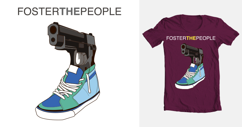 Faster then my bullet by loenraod on Threadless