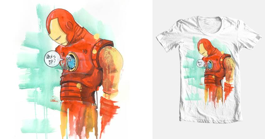 WHAT'S UP by Lora Zombie on Threadless