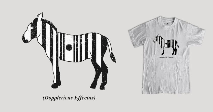I'm not zebra! by nyenyerejunior on Threadless