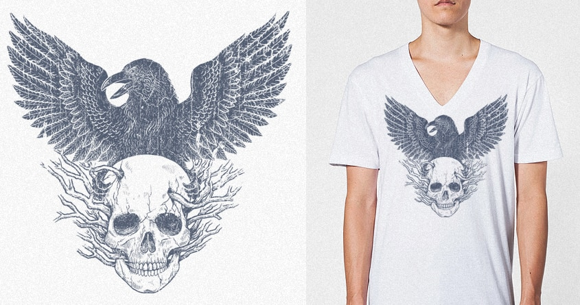 The Raven by alexmdc on Threadless