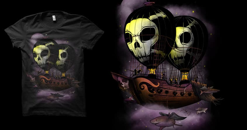 Pirates of the sky by biotwist and sayahelmi on Threadless