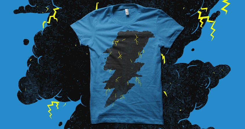 THUNDERCLOUD by biotwist on Threadless