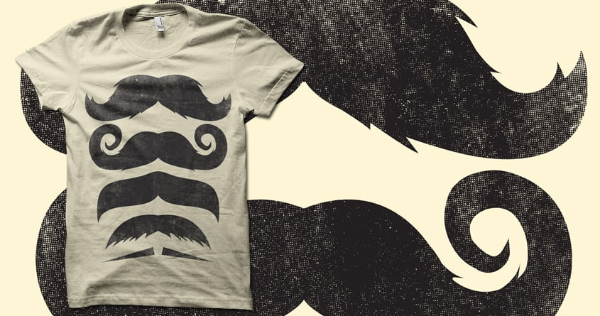 Stack of 'Staches by biotwist on Threadless