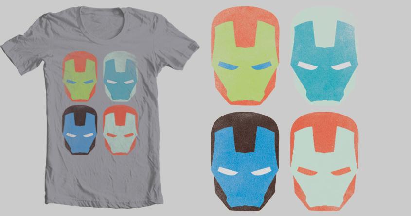 Iron Man masks  by sr.gianluca on Threadless