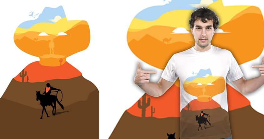 A long way by robikucluk on Threadless