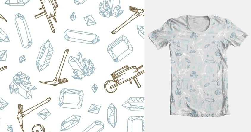 miners pattern by mopka on Threadless