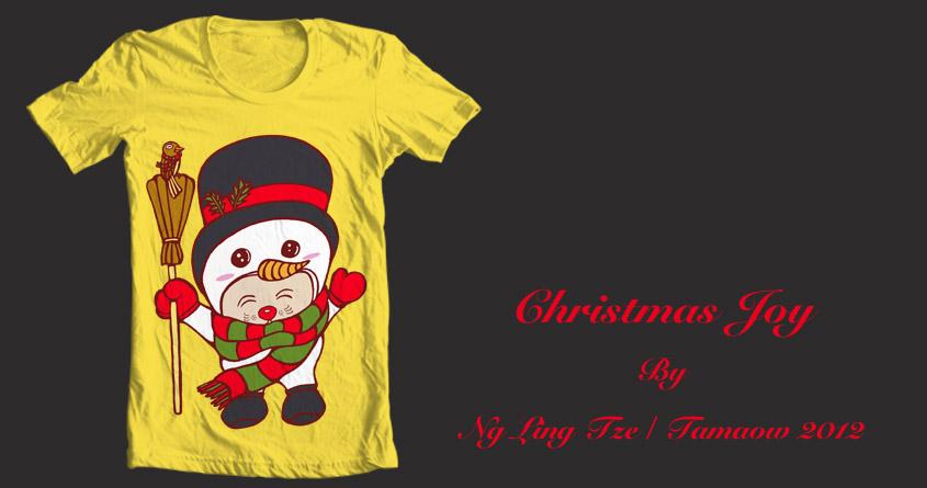 Christmas Joy by tamaow on Threadless
