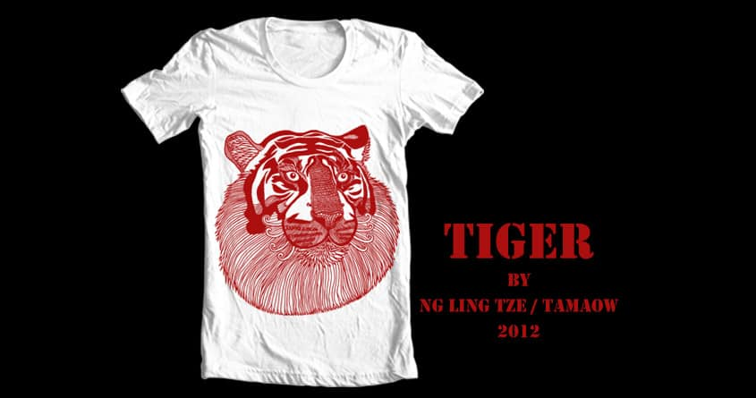 Tiger by tamaow on Threadless