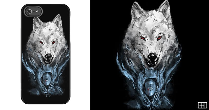 THE WHITE WOLF by gedsalazargarcia on Threadless