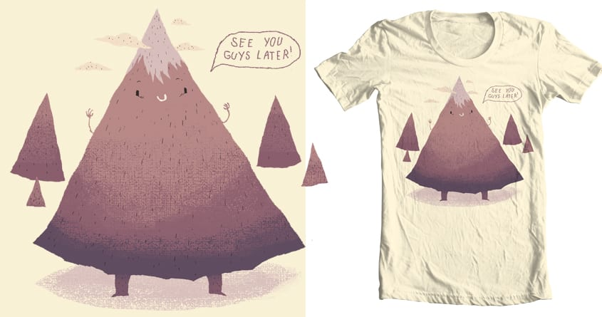 moving mountains by louisroskosch on Threadless
