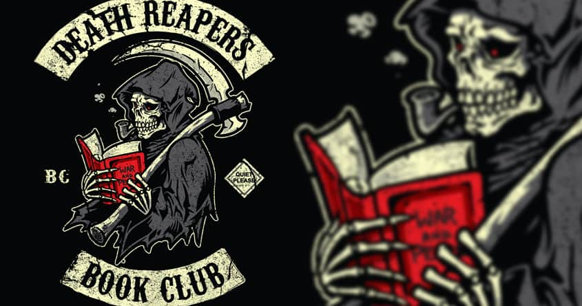 Death Reapers Book Club by Winter the artist on Threadless